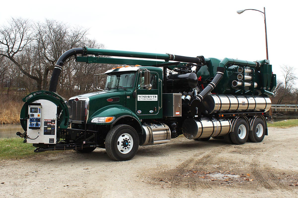 Wind River Environmental Hi-Vac Truck